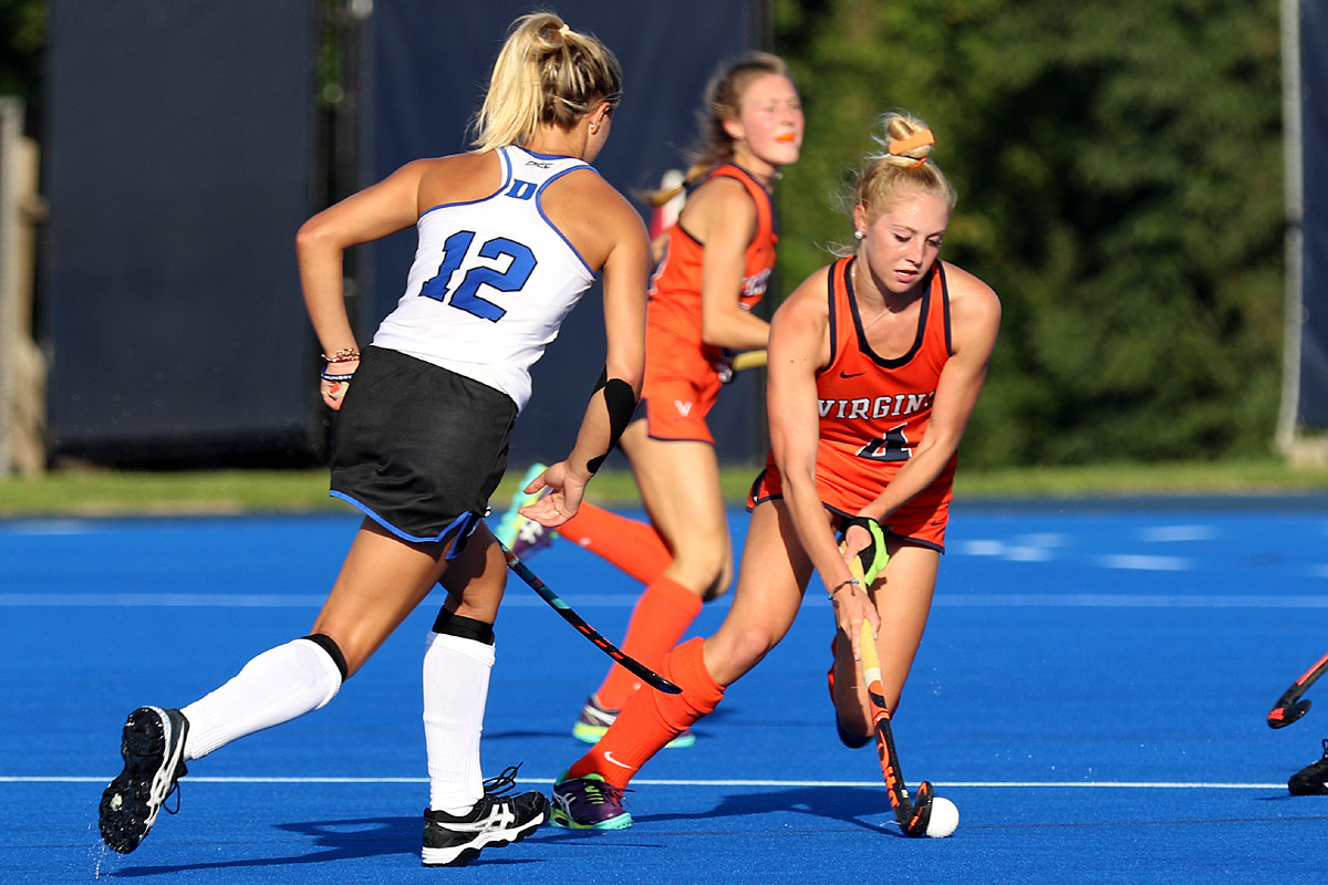 The Virginia field hockey team kept it simple to get a win against Duke.