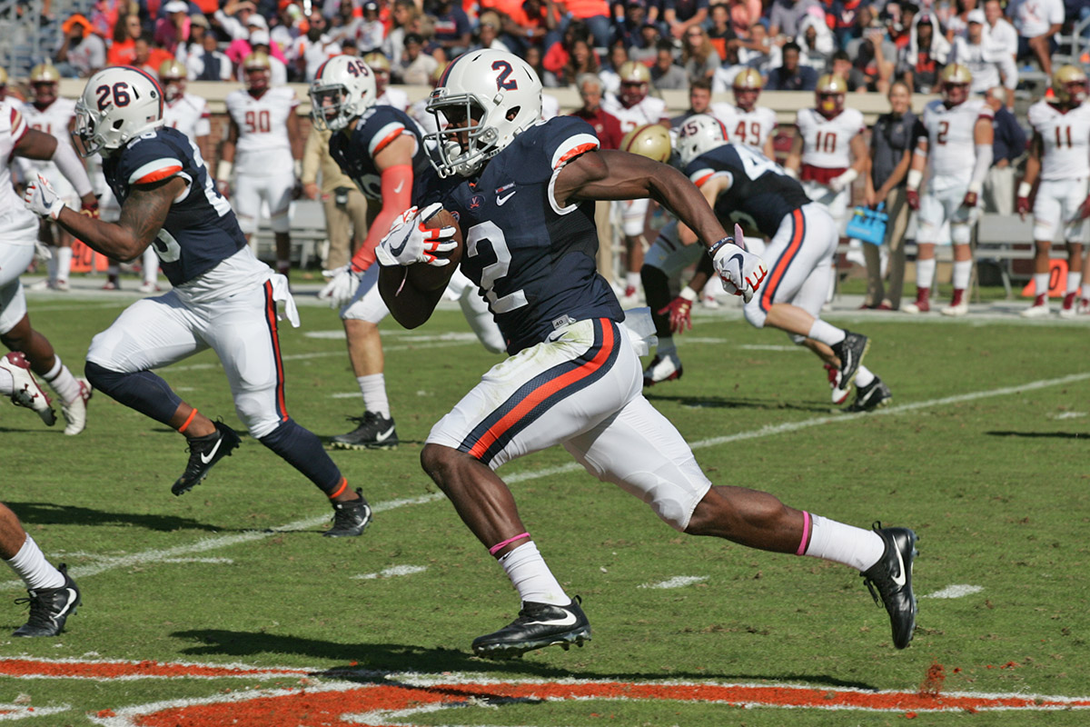 Virginia returned to bowl play in 2017.
