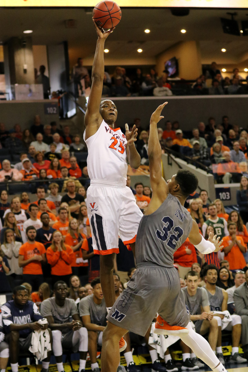 De'Andre Hunter, Kyle Guy, and Mamadi Diakite all scored in double digits.