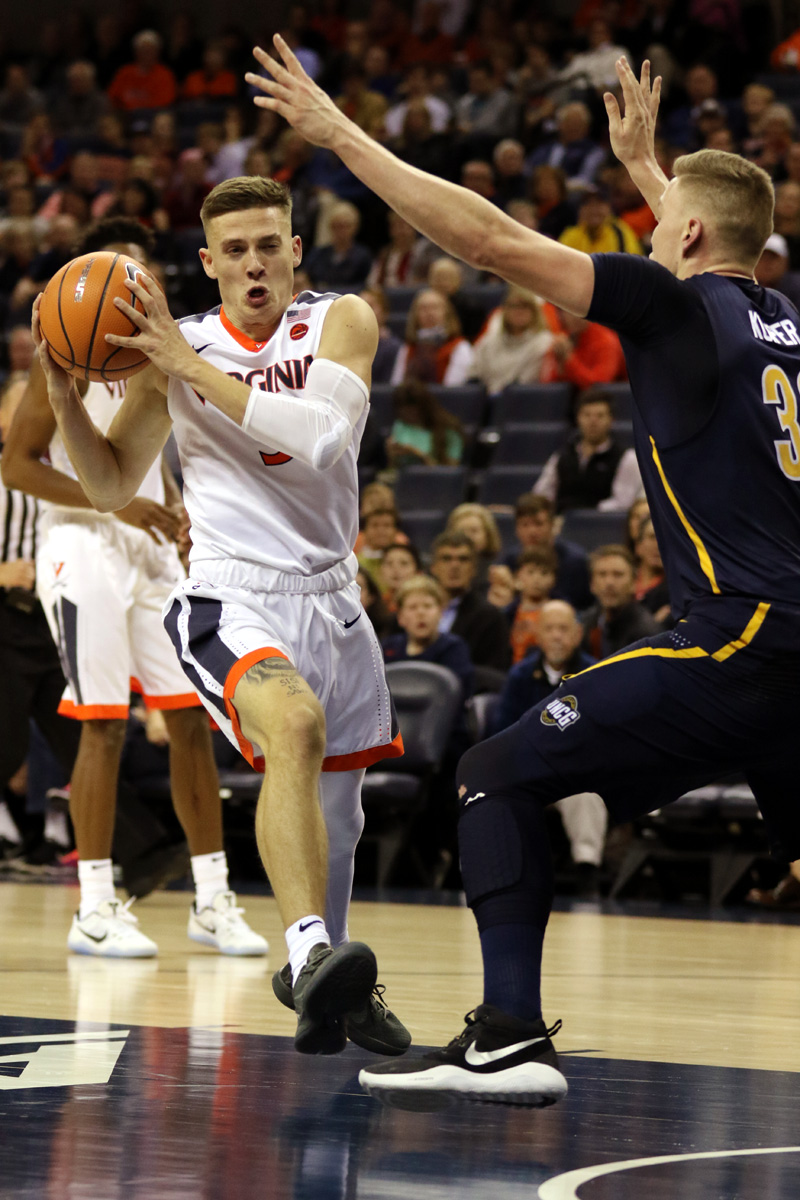 Virginia started its season with a win against UNC Greensboro.