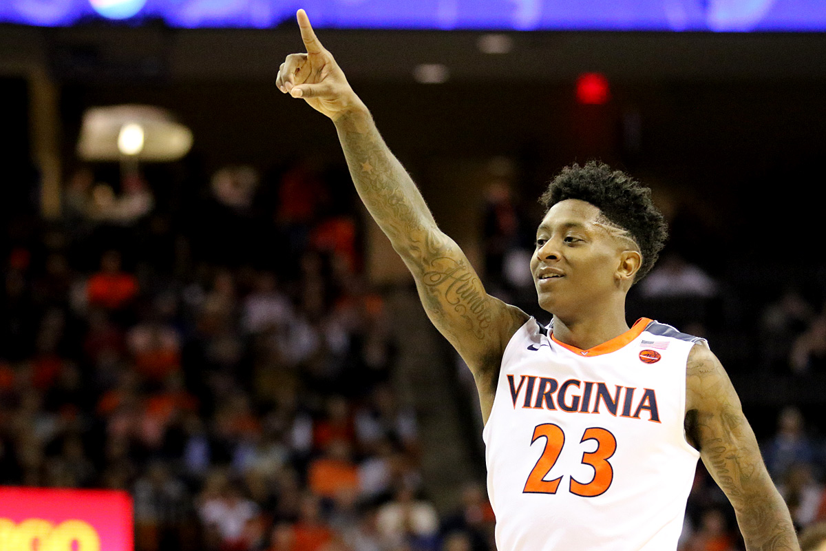Virginia opens NCAA Tournament play in Charlotte.