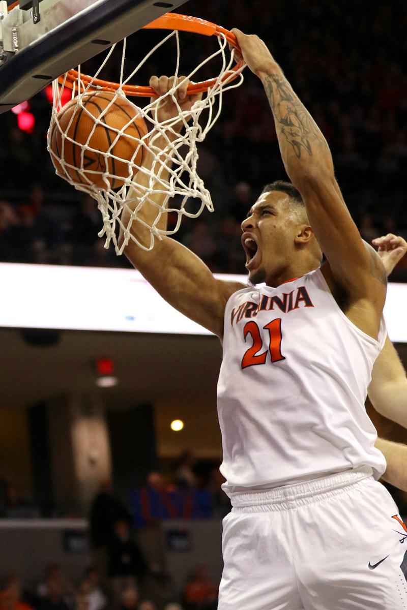 The Virginia basketball team is 8-0 this season.