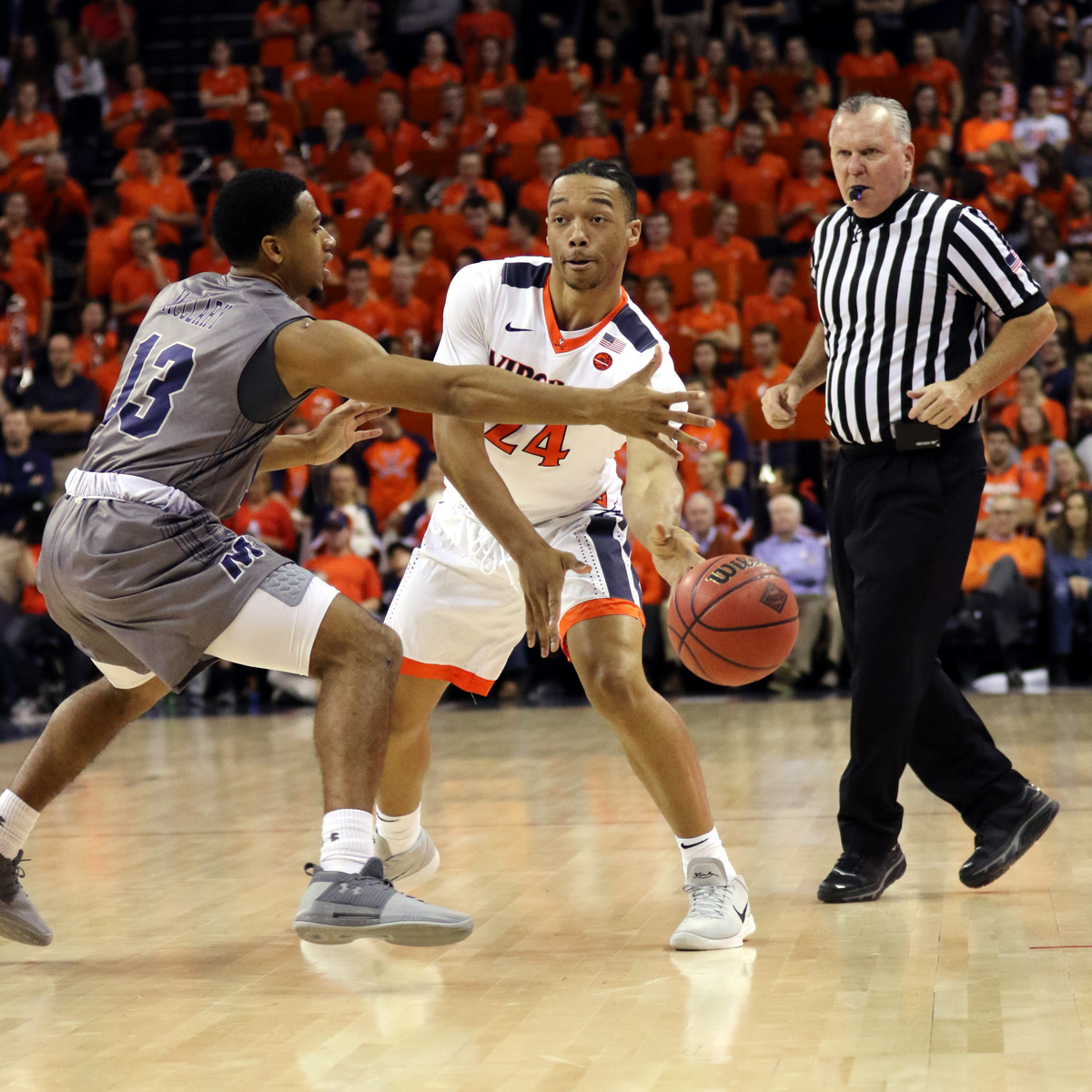 Marco Anthony is a freshman with the Virginia basketball team.