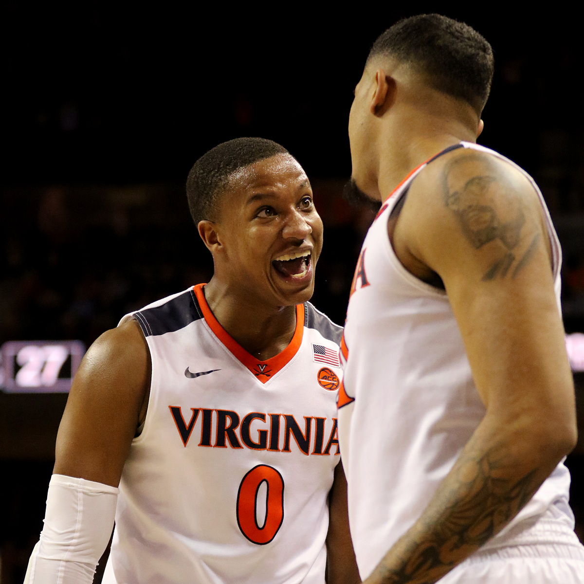 Virginia is 11-0 in the ACC this season.