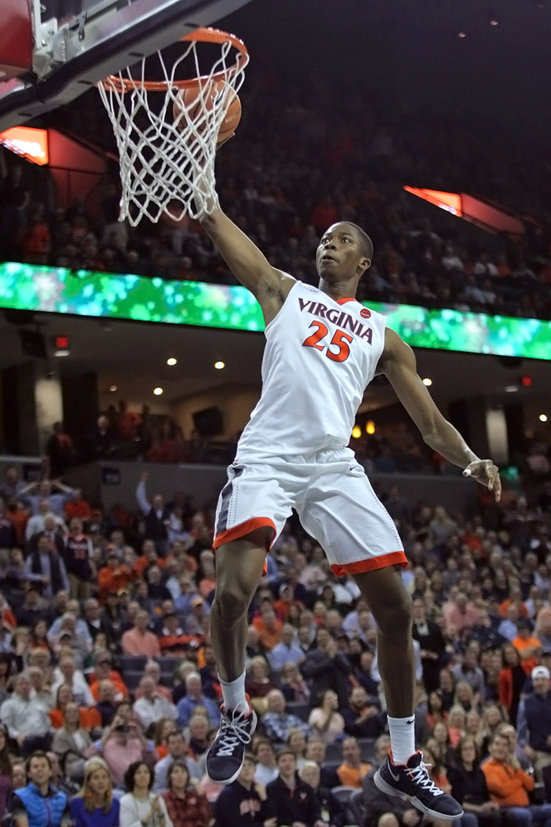 Virginia released its non-conference basketball schedule.