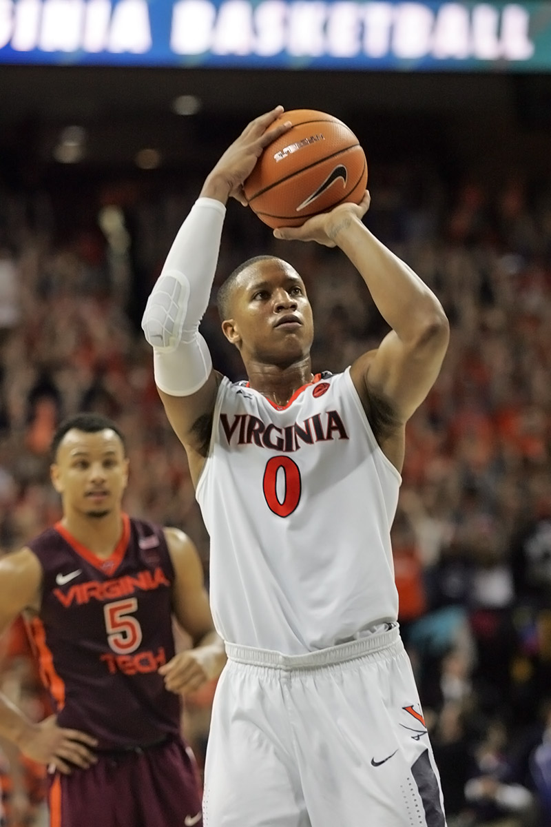 Virginia lost its first ACC game of the season.