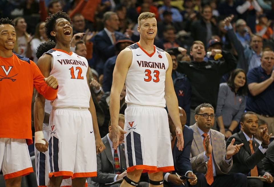 Virginia is 30-2 on the season.