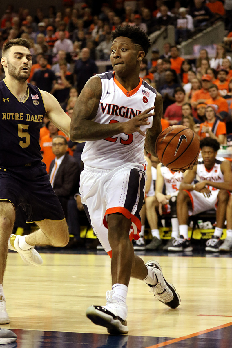 Virginia is the No. 1 seed in the ACC Tournament.