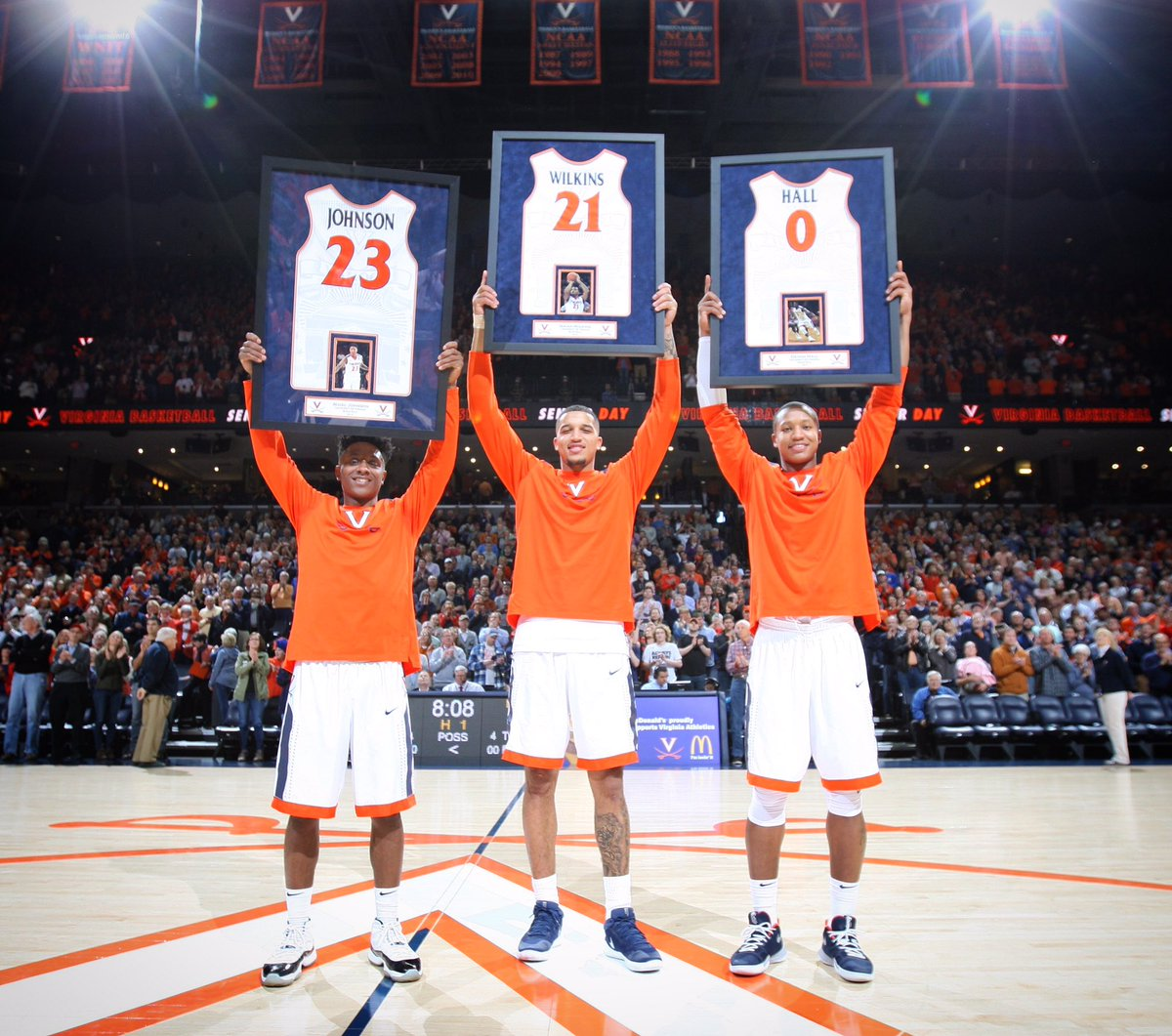 Senior Day A Special One For Virginia Basketball's Hall ...