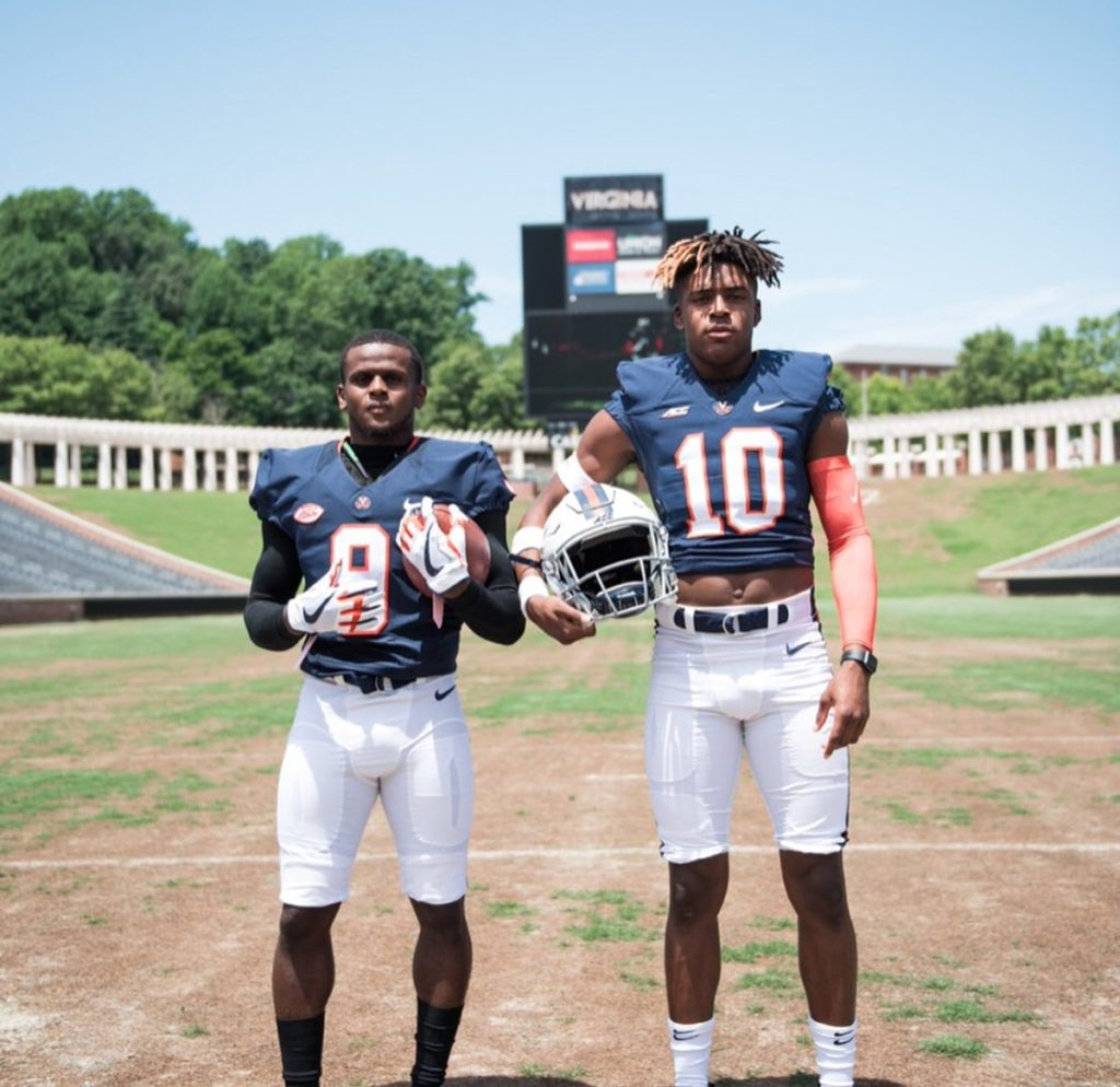 Sabre Scoop Virginia Football Basketball Set To Host Top Prospects Thesabre Com