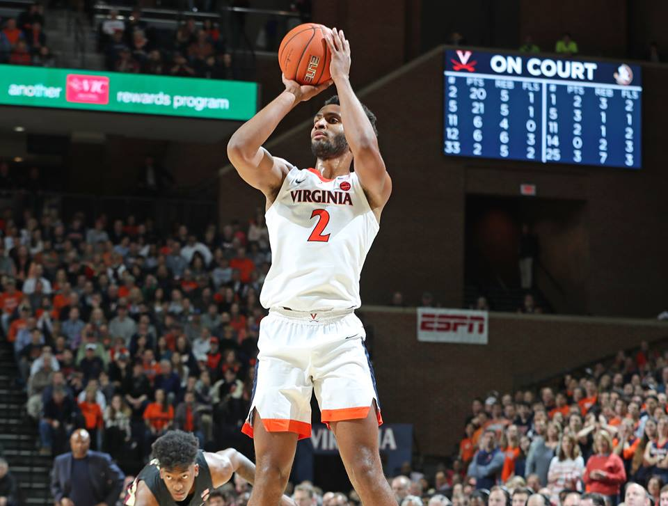 Virginia remained undefeated.