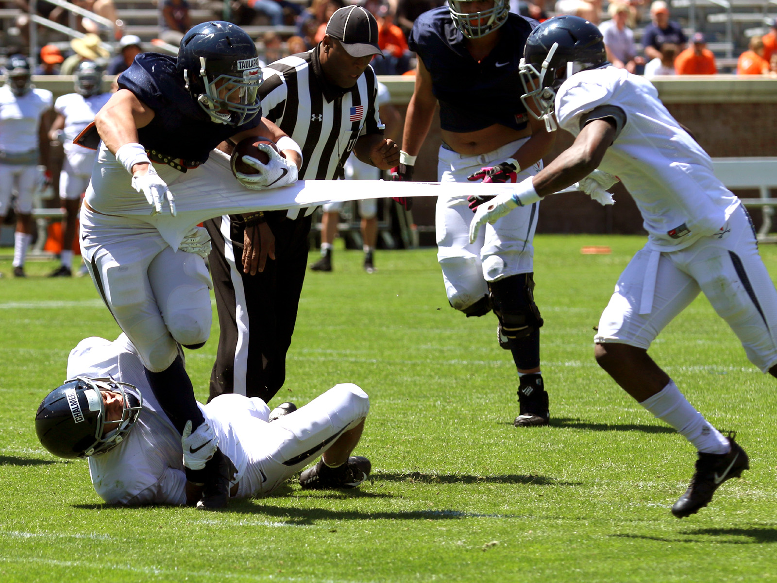 Virginia wrapped up spring practice Saturday.