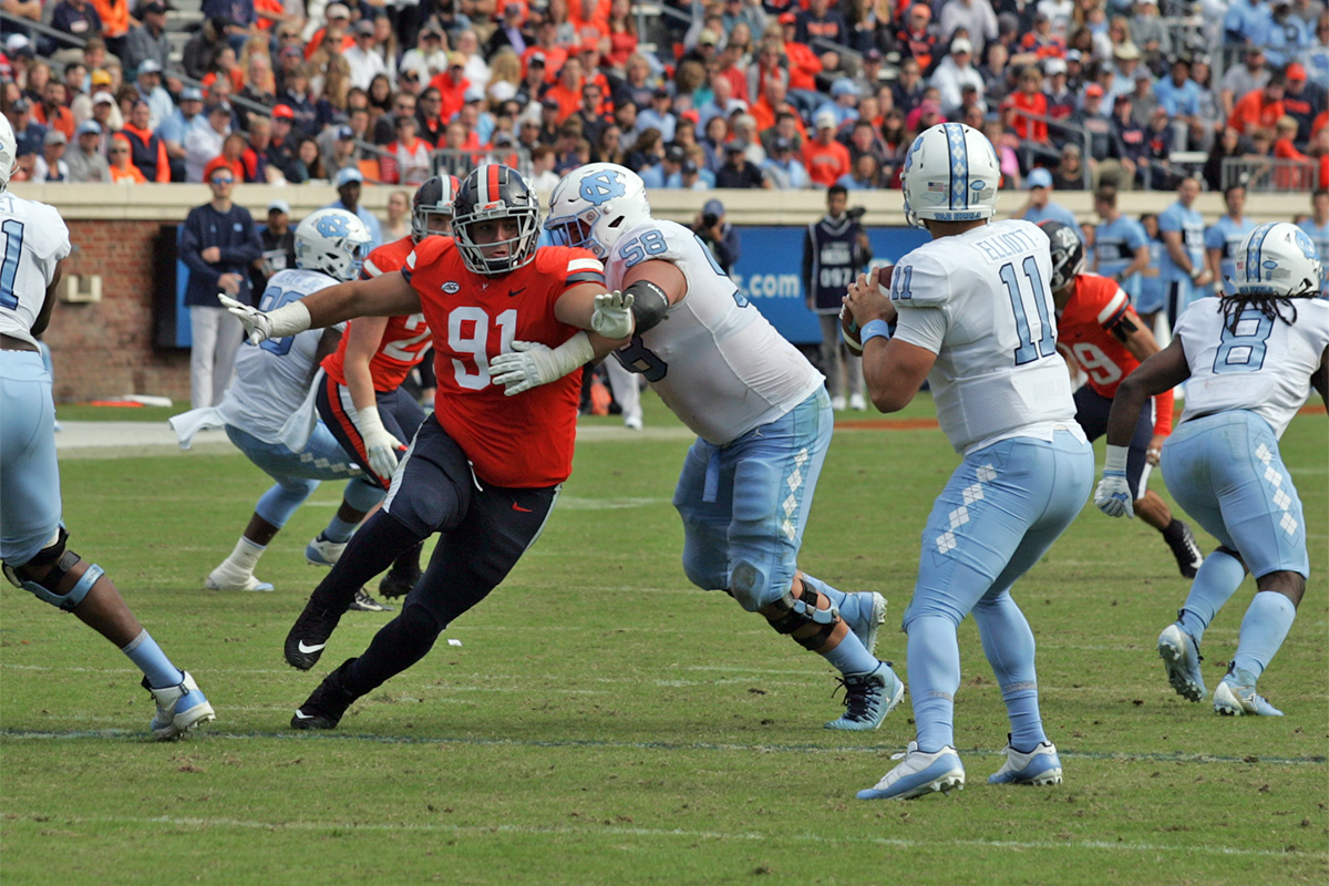 Virginia kicks off against Pitt on August 31.