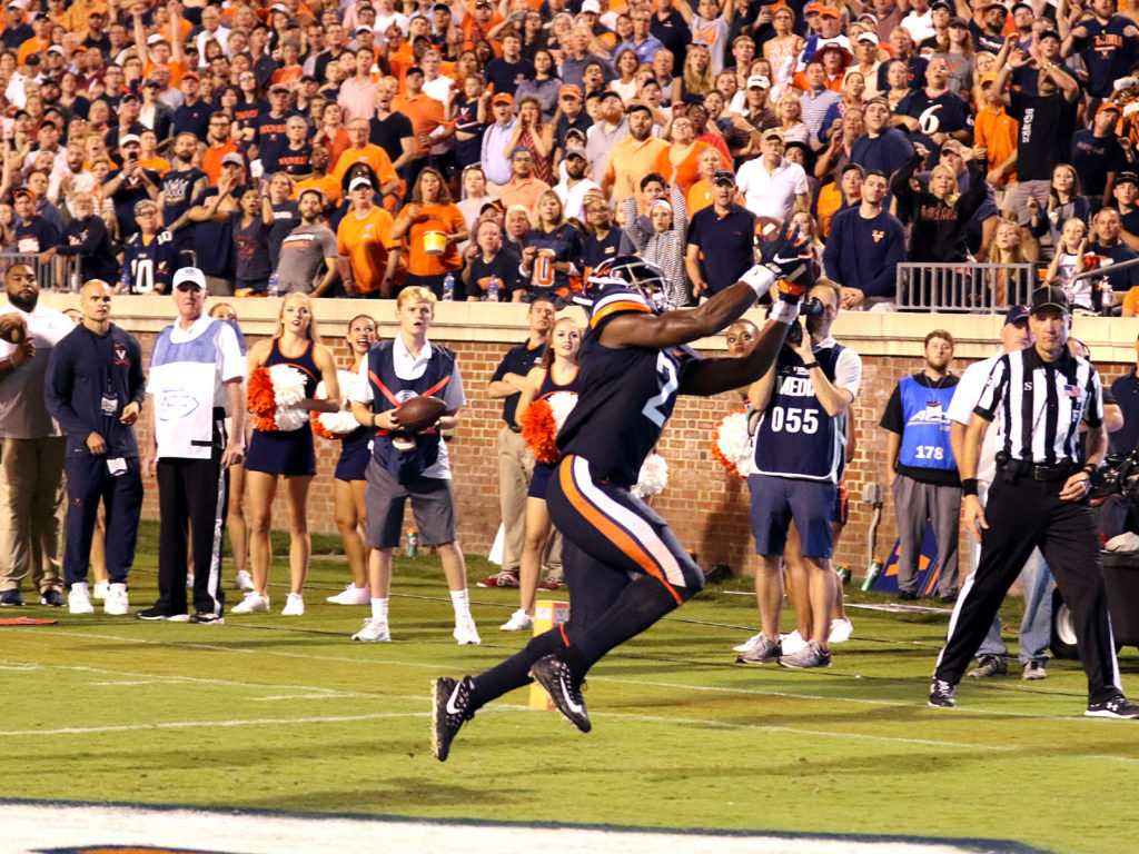 Bryce Perkins Rallies Virginia Football To Victory Over Florida State Thesabre Com