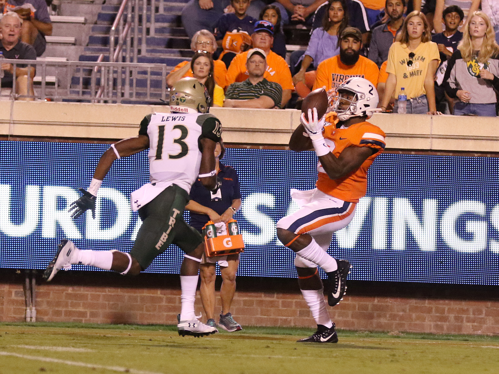 Virginia is 2-0 for the first time under Bronco Mendenhall.