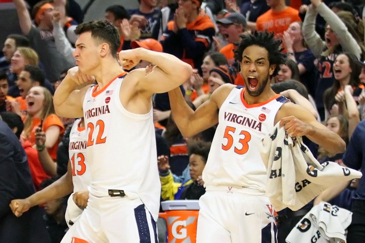 Virginia won 23 games.