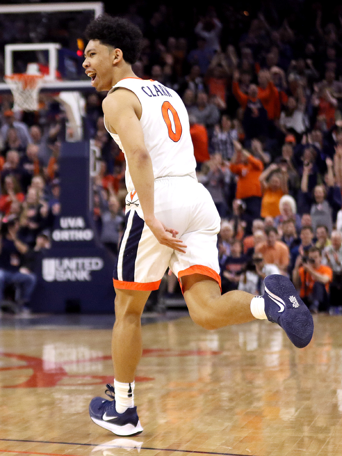Virginia won 23 games.
