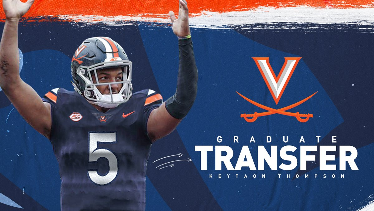 Virginia added the quarterback transfer In May.