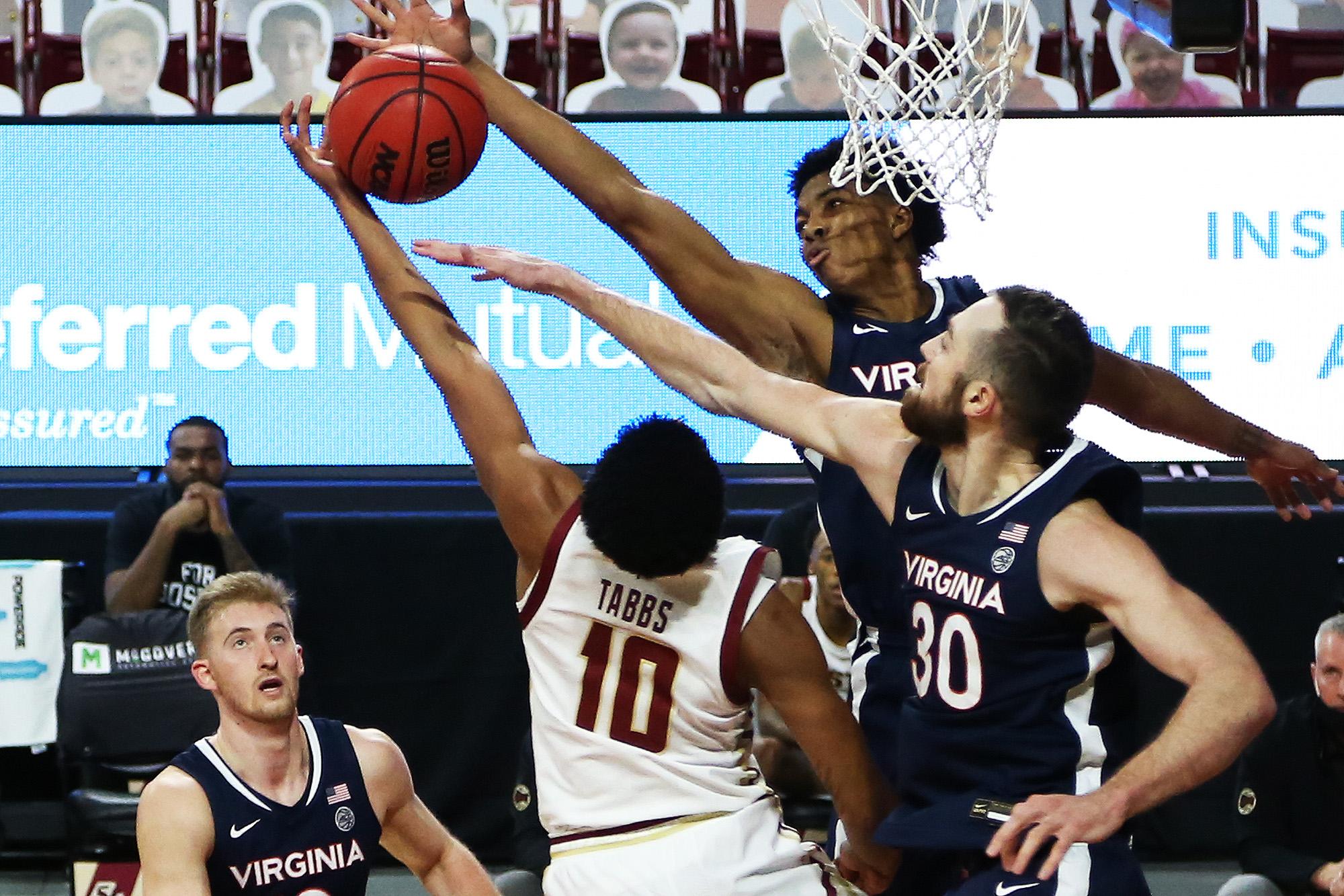 Virginia is 3-0 in ACC play.