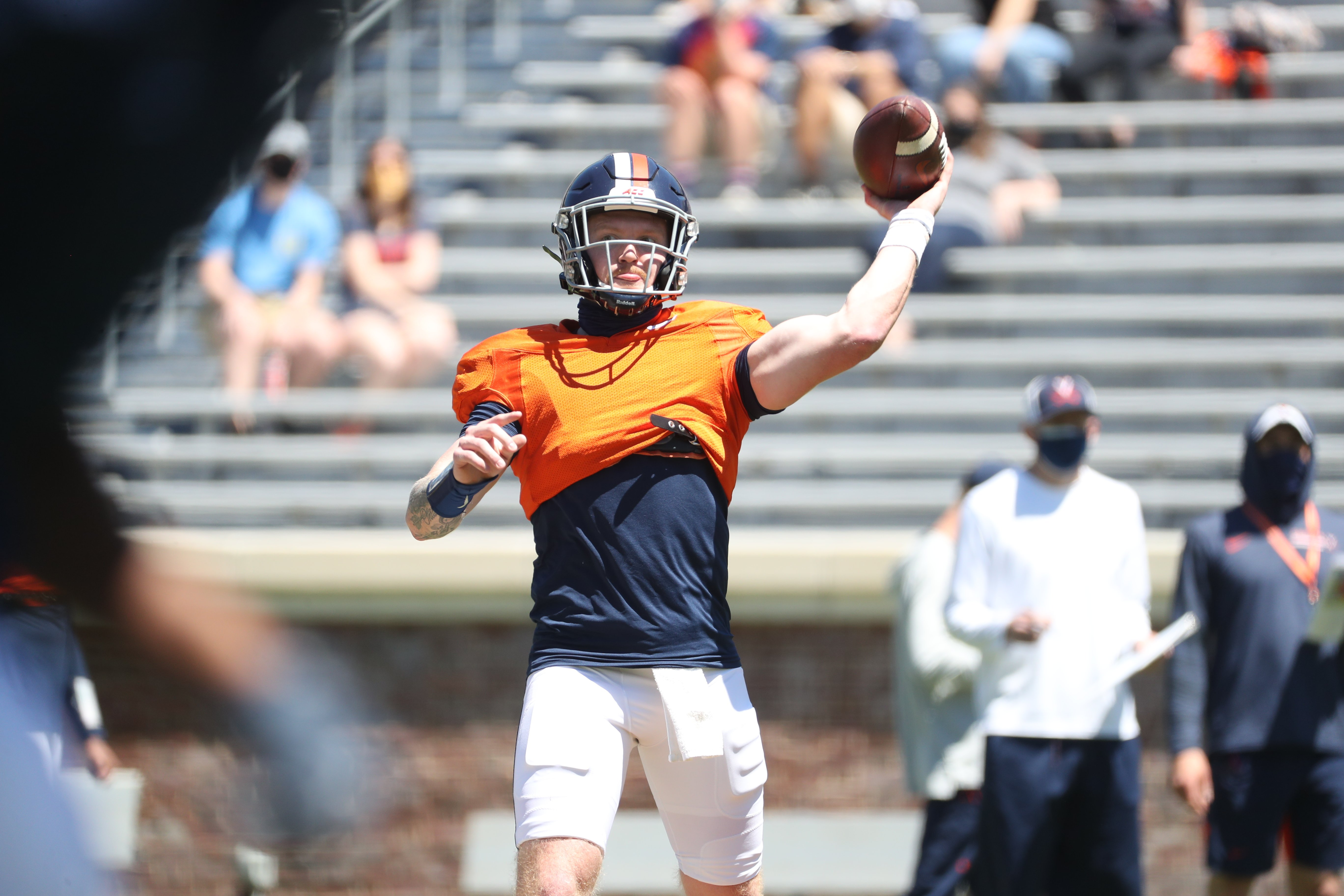 Virginia finished spring practice.
