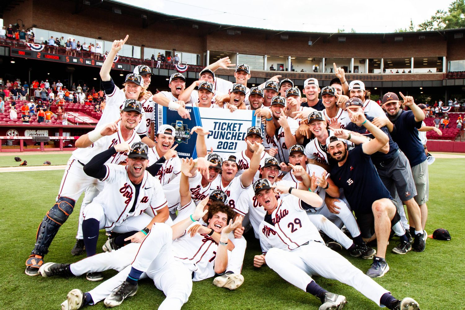 Virginia is in Omaha for the 5th time.